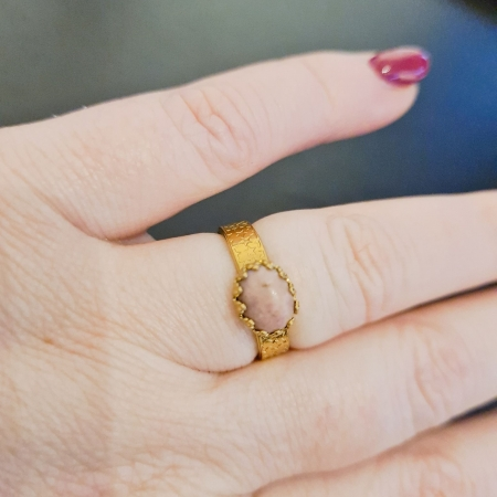 By Garance - Bague Priska - rhodonite
